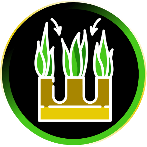 Core Lawn Aeration Icon