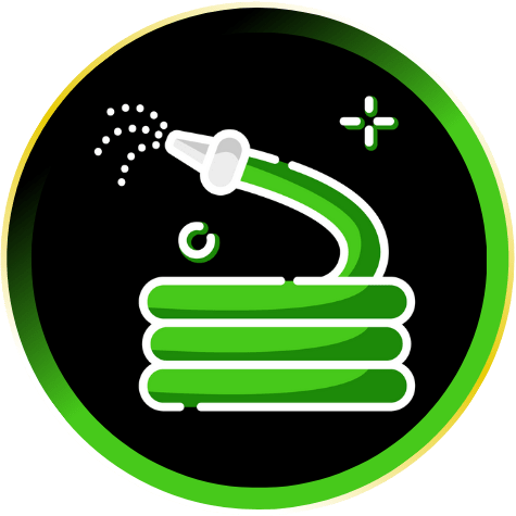 Spring Lawn Maintenance Icon